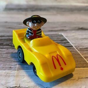 McDonald's Vintage Hamburgler pullback action car